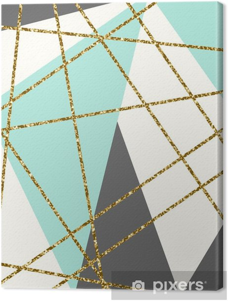 Abstract Geometric Composition Premium prints - Graphic Resources