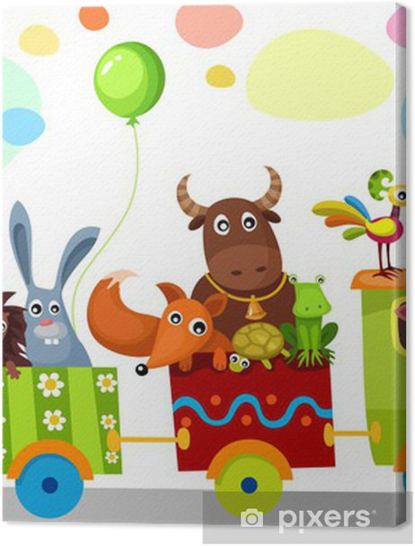 cute train Premium prints - Preschooler