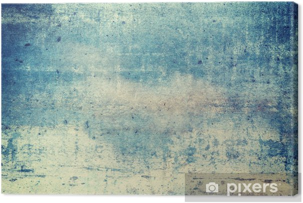 Horizontally oriented blue colored grunge background Premium prints - Graphic Resources