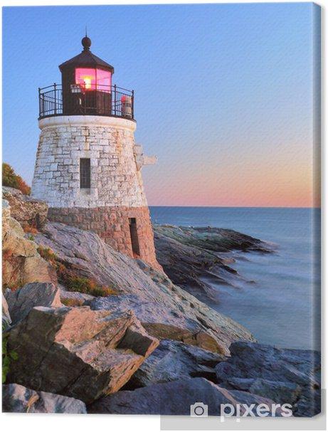 Lighthouse at sunset Premium prints - Lighthouse