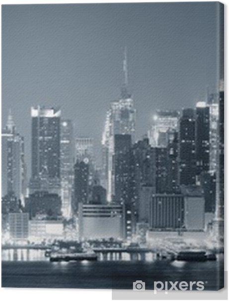 New York City Manhattan black and white Premium prints - Themes
