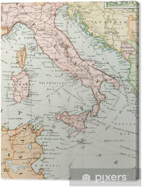 Panoramic Antique Map Premium prints - Themes