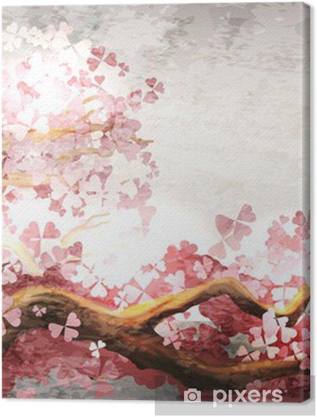 Sakura branch blooming Premium prints -