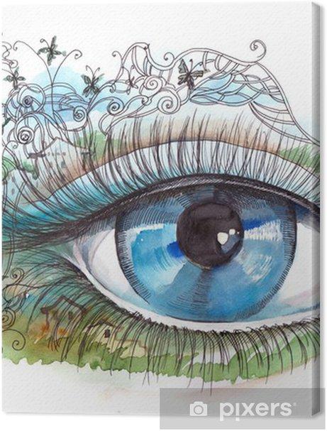 summer human eye Premium prints - Themes
