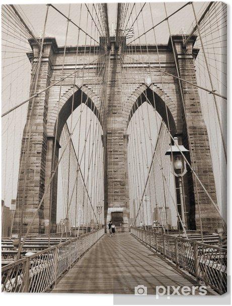 the brooklyn bridge Premium prints - Styles