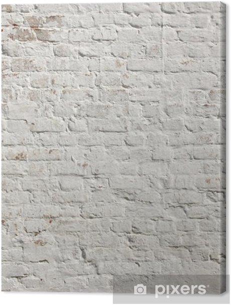 White grunge brick wall background Premium prints - Styles