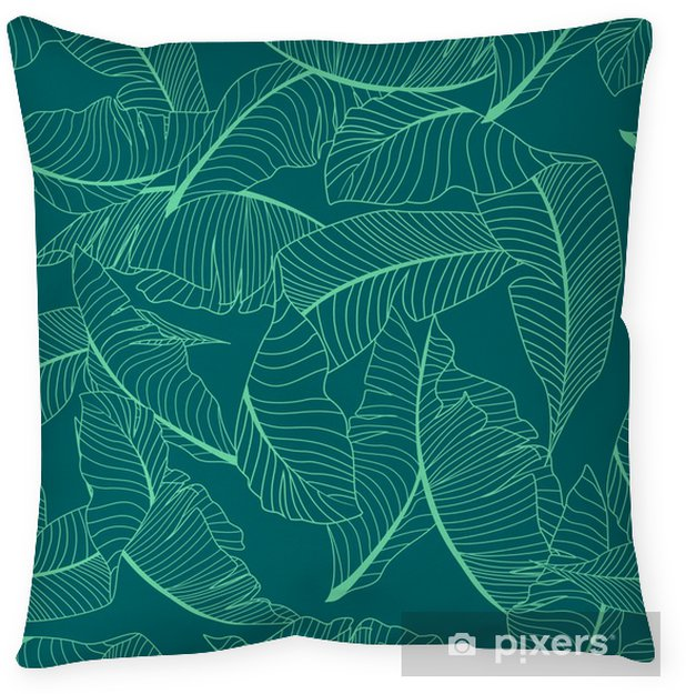 Prydnadskudde Palm mönster - Grafiska resurser