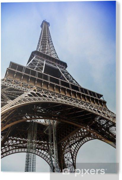 Pvc Bilde Eiffeltarnet I Paris Frankrike Pixers Vi Lever For Forandring