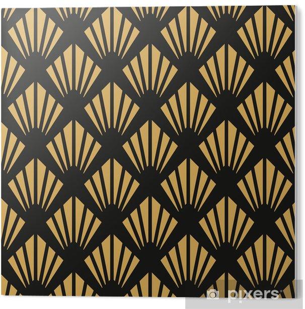 PVC Print Art deco naadloze vintage behang patroon - Grafische Bronnen