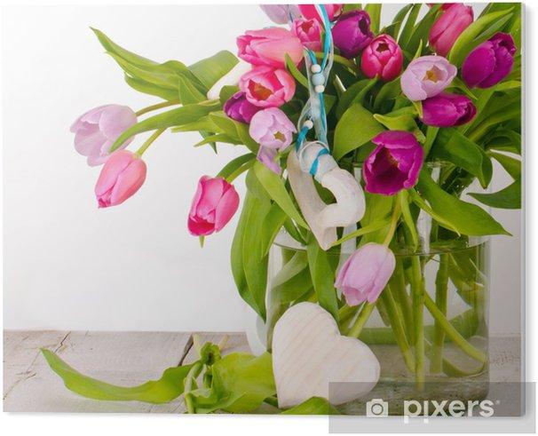 Verjaardag Bloemen Afbeelding.Pvc Print Gelukkige Verjaardag Groeten Van De Verjaardag Bloemen