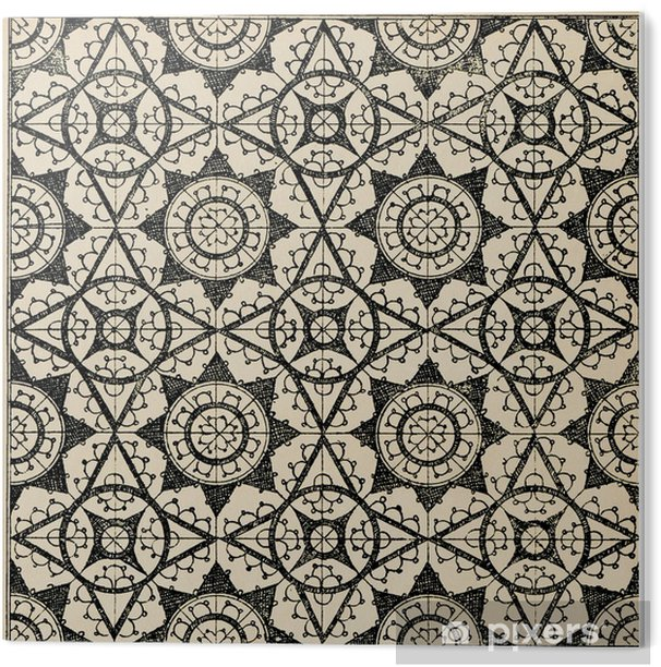 Lace tiles background 2 PVC Print - Graphic Resources