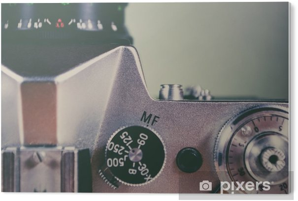 Retro camera and equipment PVC Print - Hobbies and Leisure