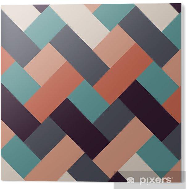 PVC Print Retro stijl abstracte strepen achtergrond - Achtergrond