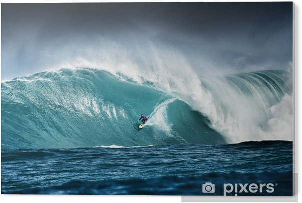 Surfing PVC Print - Themes