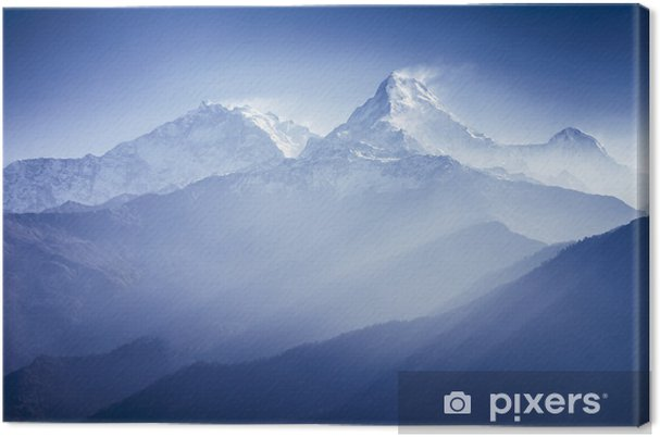 Quadro su Tela Annapurna Montagne - Temi