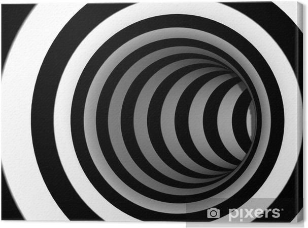 Quadro su Tela Astratto swirl 3d - Temi