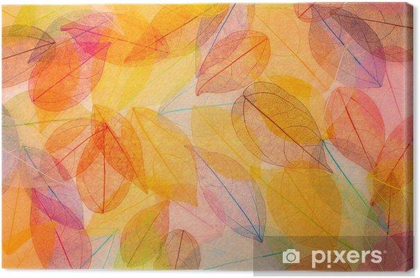 Quadro su tela autunno sfondo astratto u2022 pixers® viviamo per il