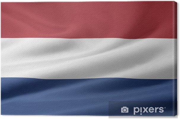 Quadro Su Tela Bandiera Olandese Pixers Viviamo Per Il Cambiamento