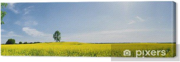 Quadro su Tela Bella primavera panoramico - Stagioni