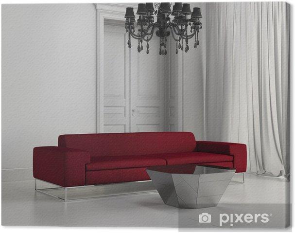 Divano Maria Rosaria : Quadro su tela bianco classico contemporaneo soggiorno divano