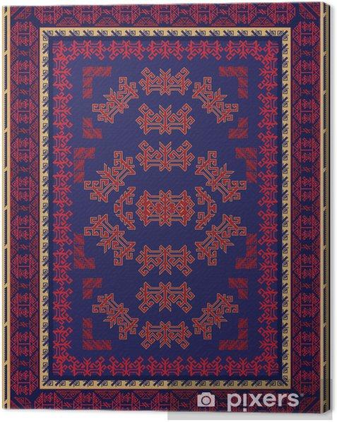 Quadro su Tela Blu e Red Carpet design - Sfondi