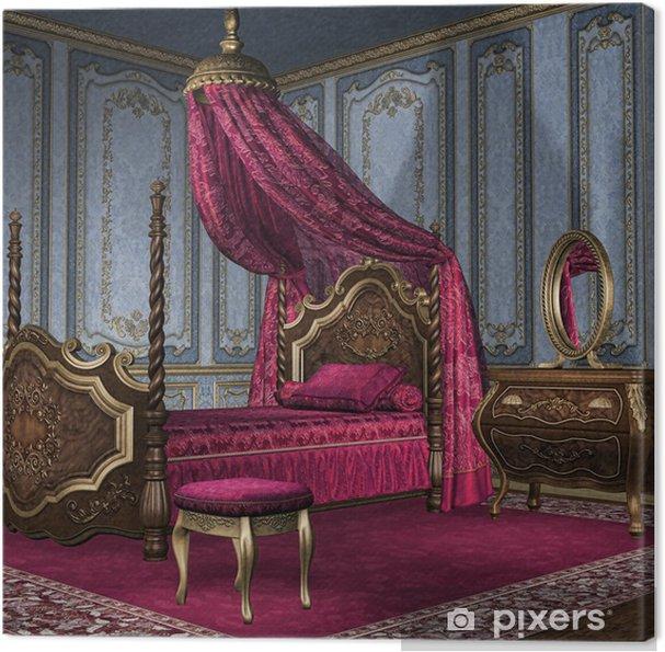 Quadro su Tela Camera da letto barocco • Pixers® - Viviamo per il ...