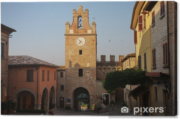 aeaa1f5596 Quadro su Tela Castello di Gradara • Pixers® - Viviamo per il ...