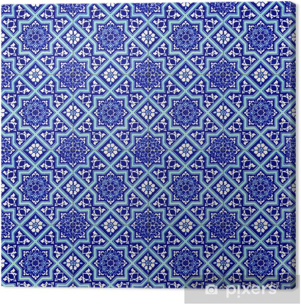 Quadro su Tela Ceramiche turche - Mosaico