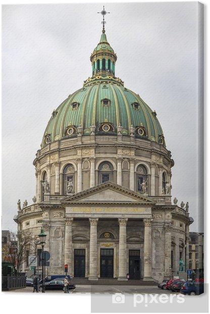 Quadro su Tela Chiesa di Frederik, Copenhagen - Temi