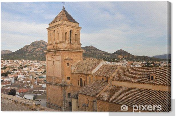 Quadro su Tela Chiesa di S. Maria Maggiore, Alcaudete, Jaen (Spagna) - Europa
