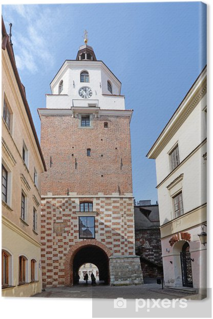 Quadro su Tela Cracovia Porta a Lublino - Temi