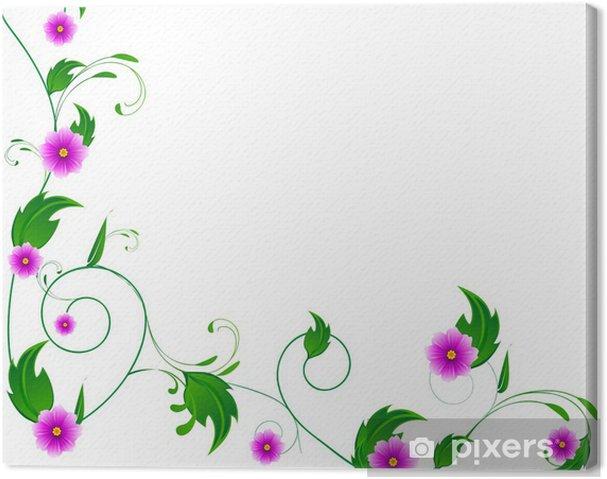 Quadro su tela decorazioni floreali pixers viviamo for Decorazioni quadri