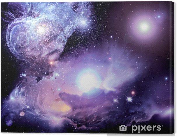 Quadro su Tela Fantasy Spazio Nebula - Universo