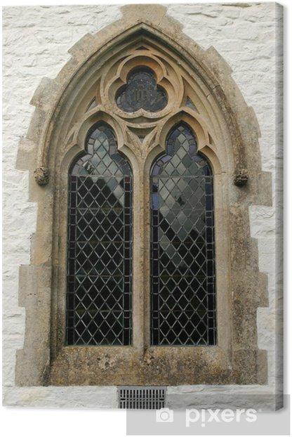 Quadro su Tela Finestra gotica - Temi