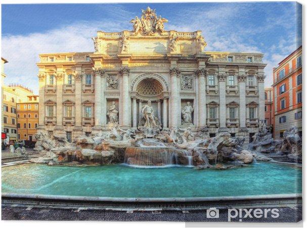 Quadro su Tela Fontana di Trevi, Roma, Italia - Temi
