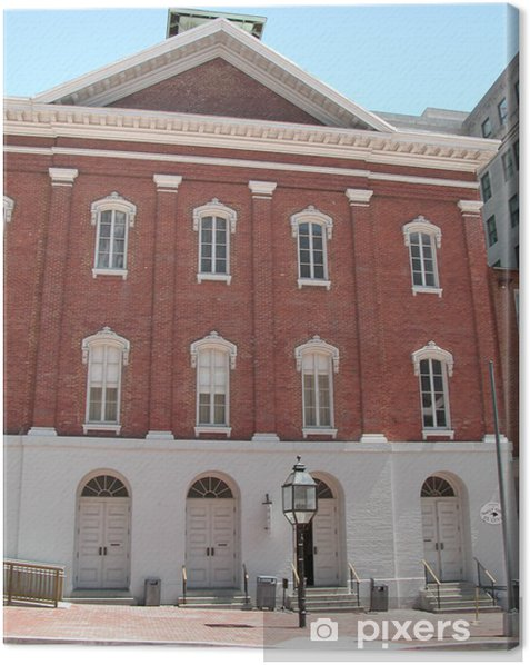Quadro su Tela Ford teatro, Washington DC - Edifici pubblici