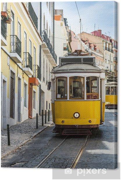 Quadro su Tela Funicolare Gloria di Lisbona - Città europee