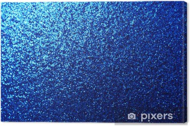 Quadro Su Tela Gradiente Blu Metallizzato Pixers Viviamo Per Il