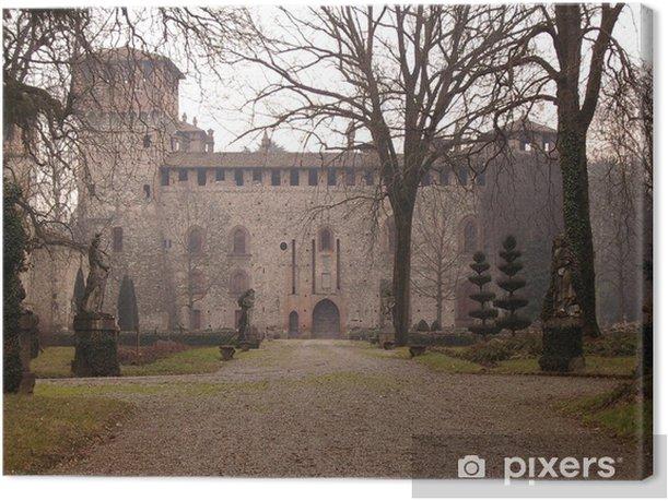 Quadro su Tela Grazzano Visconti - Castello - Monumenti