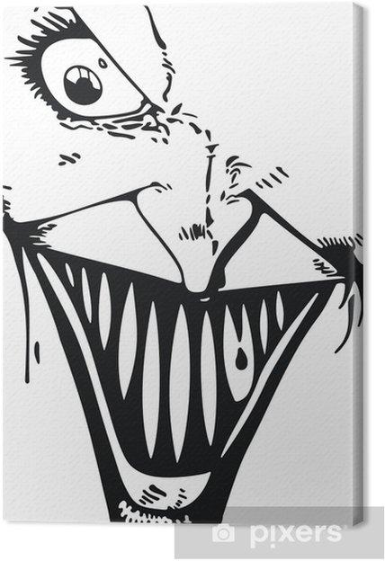 Quadro su Tela Joker faccia - Temi