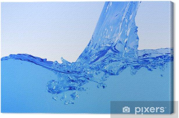 Quadro su Tela L'acqua pulita - Texture