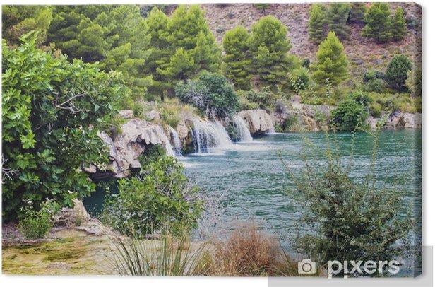 Quadro su Tela Lagunas de Ruidera - Meraviglie della Natura