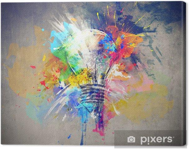 Quadro su Tela Luce Colourful -
