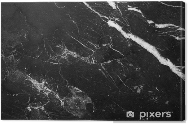 Quadro su Tela Marmo naturale astratto bianco e nero, il modello può essere  utilizzato per la carta da parati o il rivestimento in piastrelle della ...