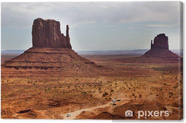 Quadro su Tela Monument Valley, Arizona - America