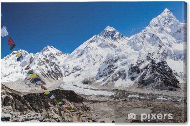 Quadro su Tela Mount Everest montagne del paesaggio - Temi