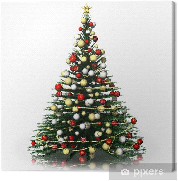 Quadro su Tela Natale_Albero di Natale_2014001 - Natale