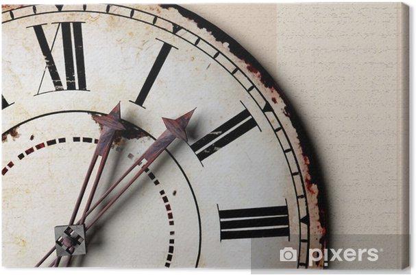 Quadro su Tela Orologio d'epoca - Orologi