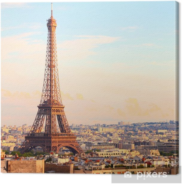 Quadro su Tela Parigi - Per ufficio