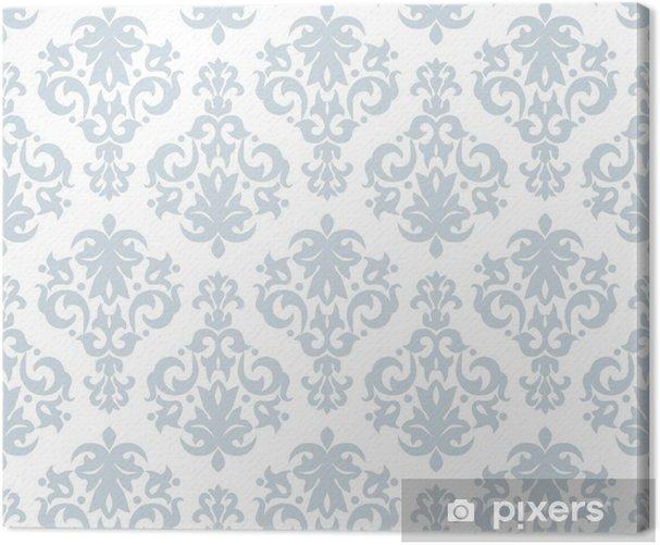 Quadro su Tela Pattern di sfondo trasparente in stile vintage - Sfondi